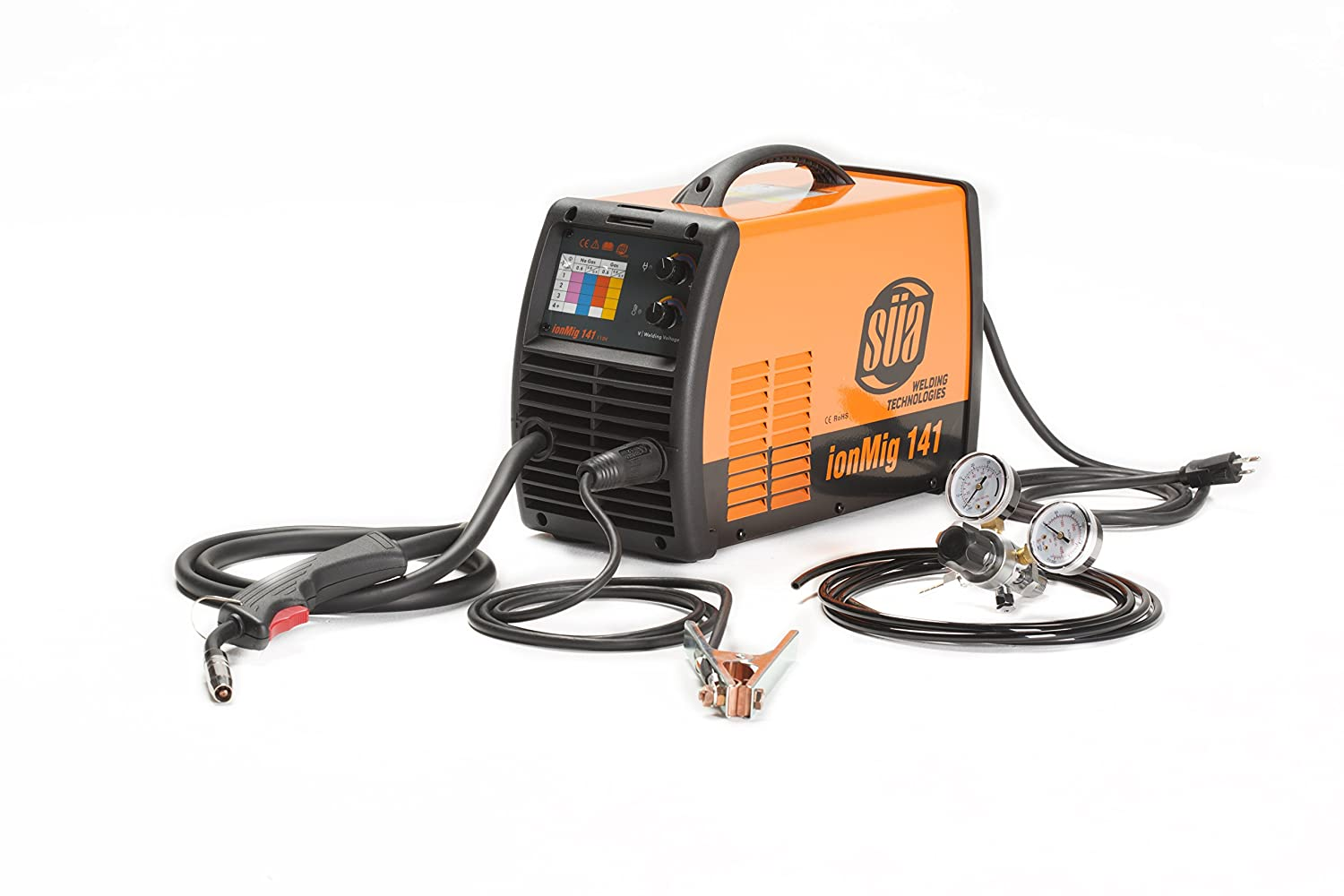 SÜA ionMig 141 Inverter IGBT MIG Welding Machine - 110 Volts - Uses ...