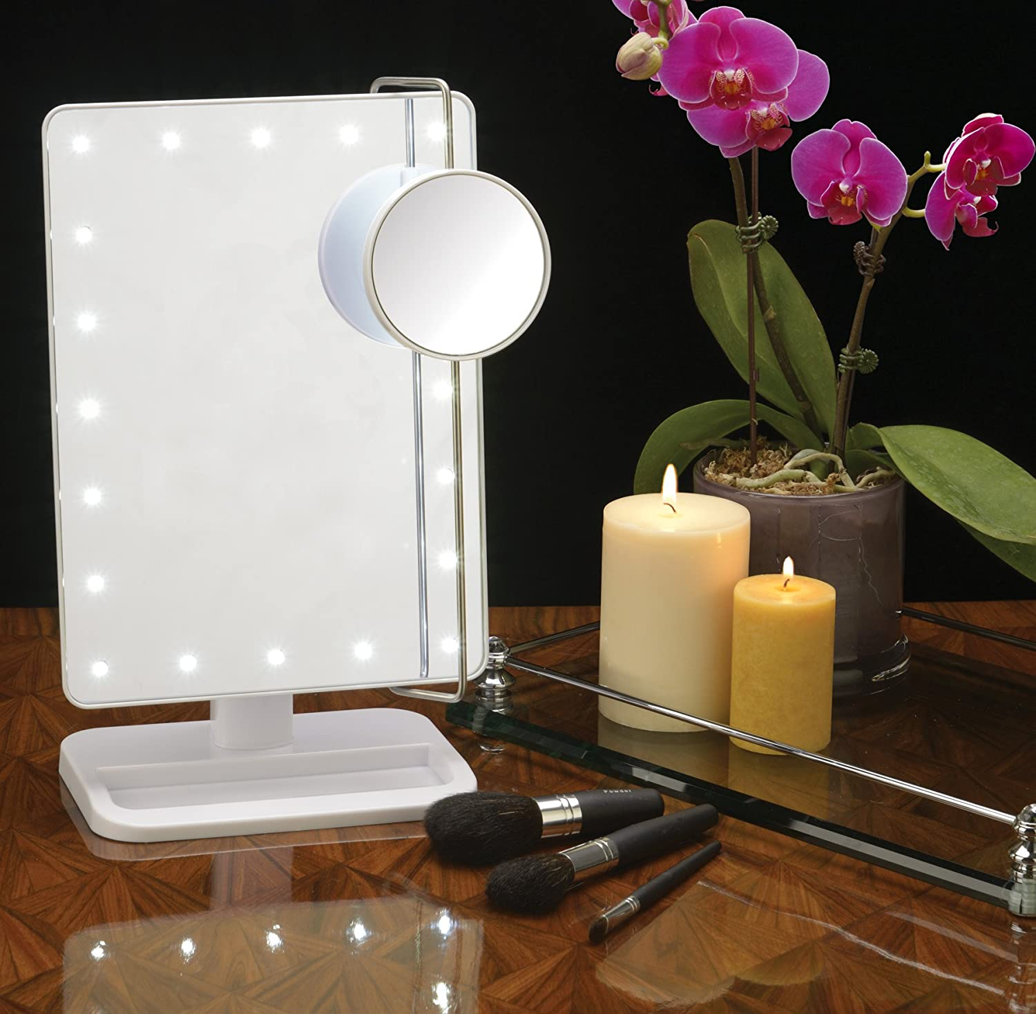 mirrorlighted makeup lighted house bathroom pin with pinterest mirror light led vanity