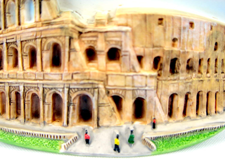 Amazon.com: Souvenir Collectibles Colosseum Rome Italy Hand ...