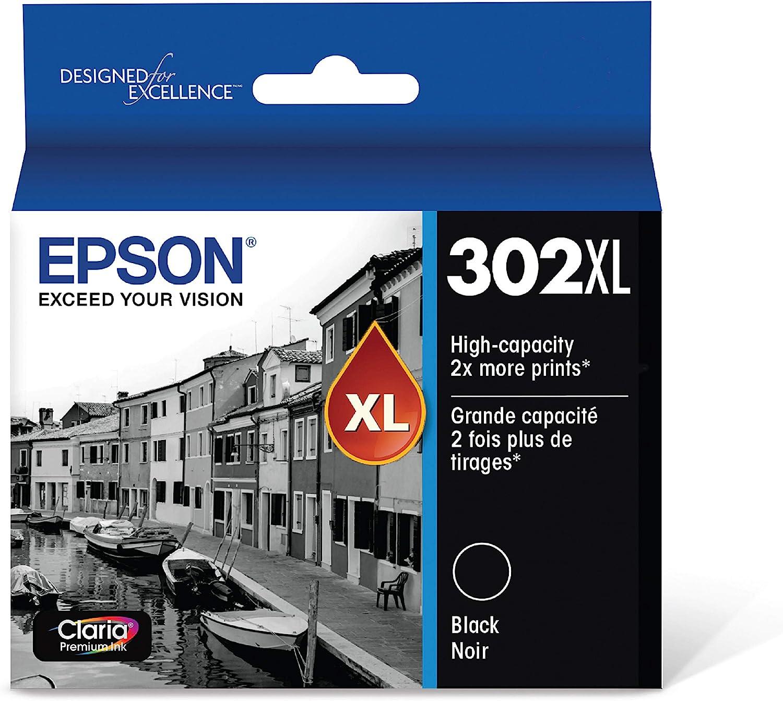 Epson T302XL020 Claria Premium High-capacity Ink Cartridge - Black