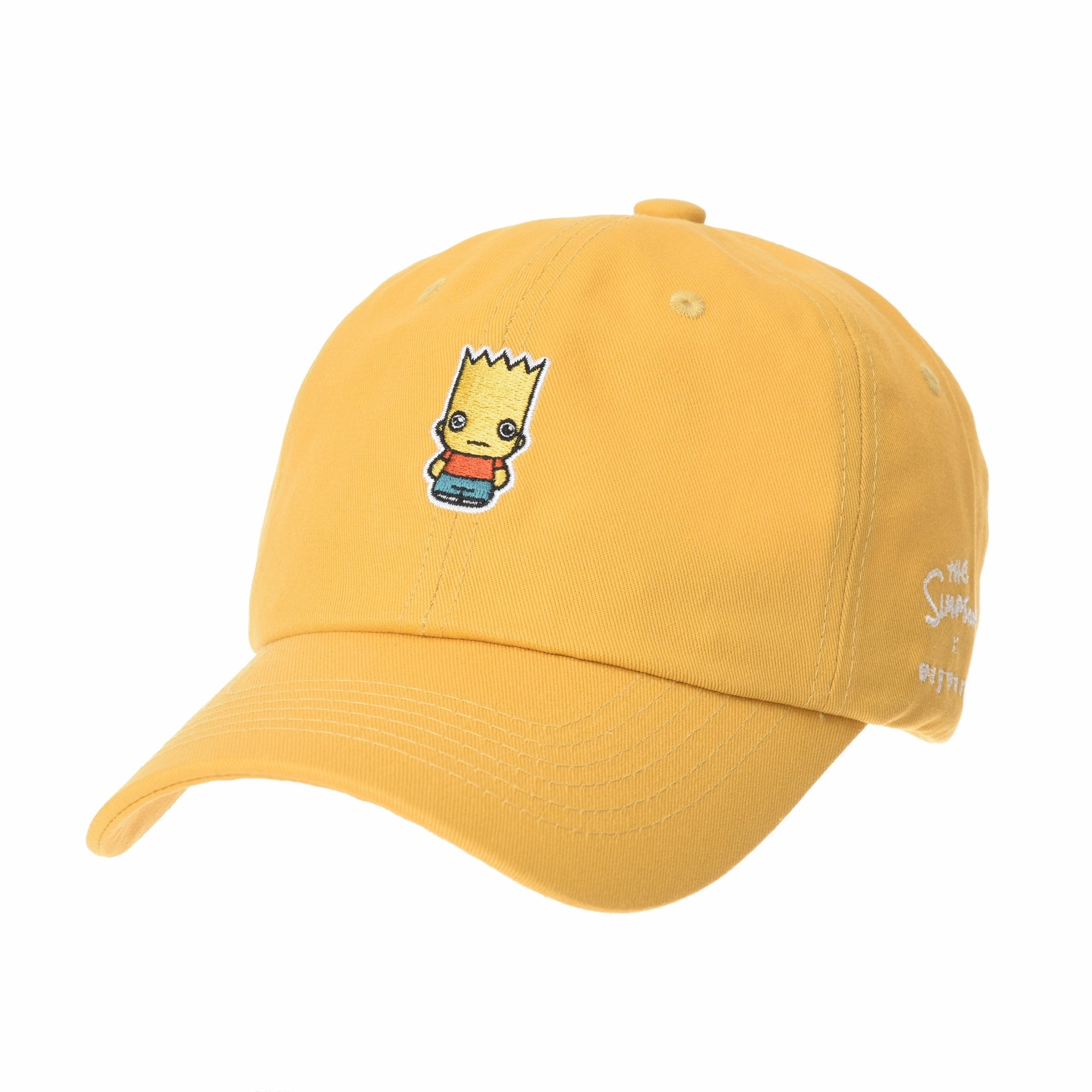 b9bed227eb3ca WITHMOONS The Simpsons Baseball Cap Groot Bart Embroidery Hat HL11028  (Yellow)