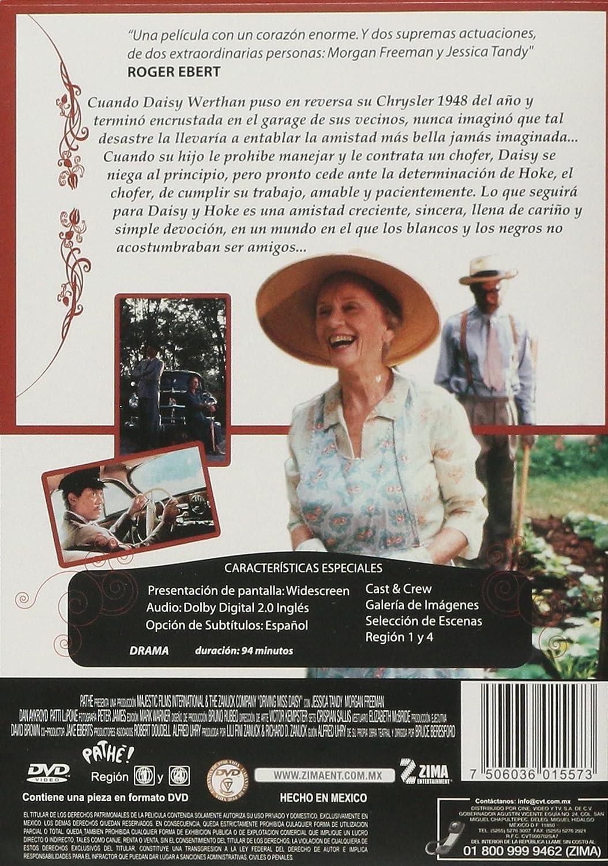 Amazon.com: Driving Miss Daisy (El Chofer y La Señora Daisy) Aniversary Edition [NTSC/REGION 1 & 4 DVD. Import-Latin America]: Morgan Freeman, Jessica Tandy ...