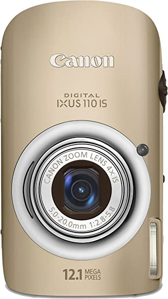 Canon Digital Ixus 110 Is Digitalkamera 2 8 Zoll Gold Kamera