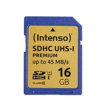 Intenso 3421470 Tarjeta de memoria SD UHS-I 16 GB grado 10 ...