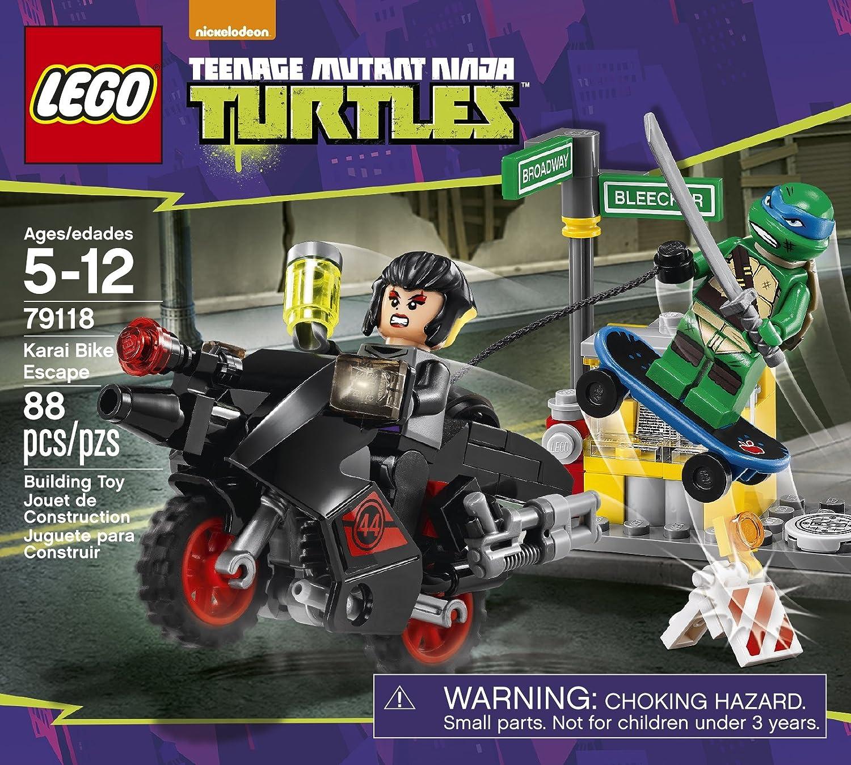 Lego TMNT TurtlesKarai Bike Escape Mod. 79118: Amazon.es ...