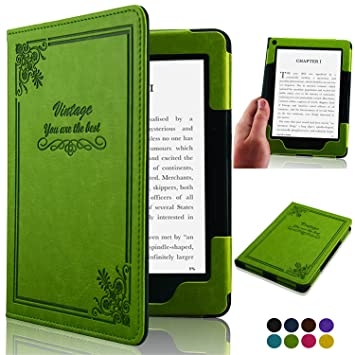 Fskying ACdream Kindle Voyage - Funda de Piel con Tapa para Kindle ...