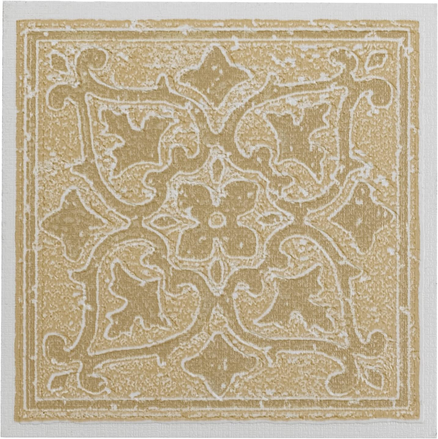 Achim Home Furnishings WTV401AC10 Nexus Accent Wall Tile, 4 by 4-inch, Sandstone, 27-Pack