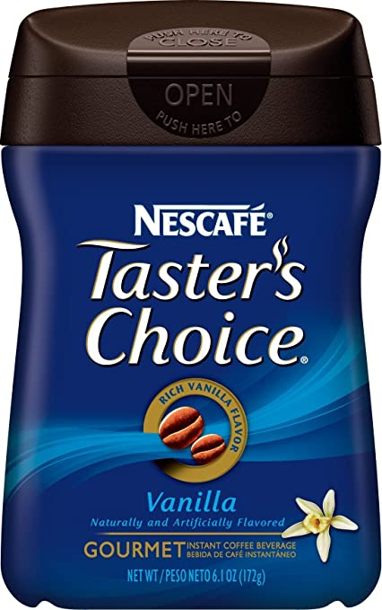Nescafe Tasters Choice Instant Decaf Coffee, 7-Ounce Canisters (Pack of 3)