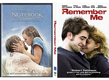Amazon com: Remember Me & The Notebook Romance Movies DVD