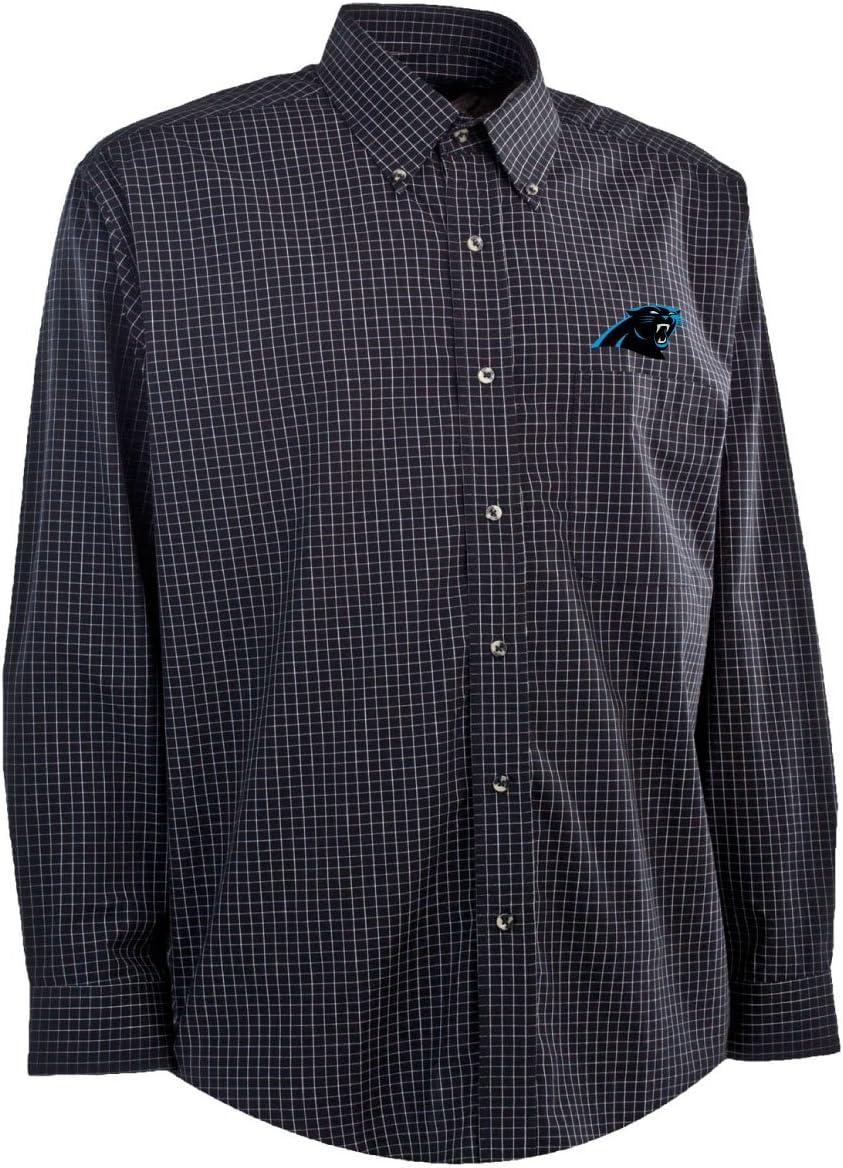 Antigua Carolina Panthers de la NFL Hombres Esteem Tejido Vestido Camiseta, Hombre, Negro, Gris y Blanco: Amazon.es: Deportes y aire libre