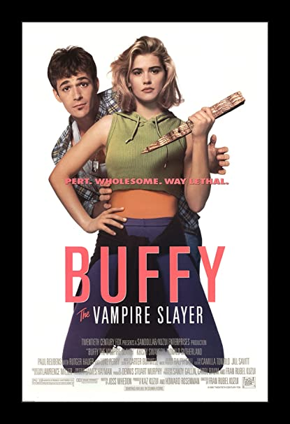 7528437c9db Image Unavailable. Image not available for. Color: Buffy the Vampire Slayer  - 11x17 Framed Movie Poster ...