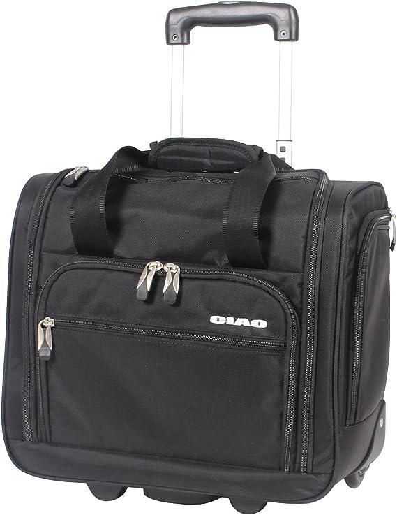 Amazon.com: Bolsa con ruedas para equipaje para colocar ...