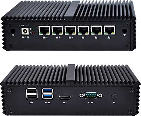 Barebone Firewall Micro Appliance With 4x Gigabit Intel® LAN Ports AES-NI