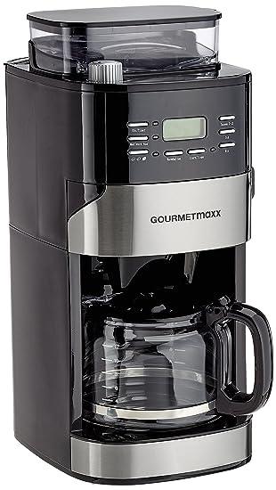 GOURMETmaxx 01897 Kaffeemaschine Mit Thermoskanne   Mit Mahlwerk U0026 Filter    Digitales Bedienfeld Mit LED