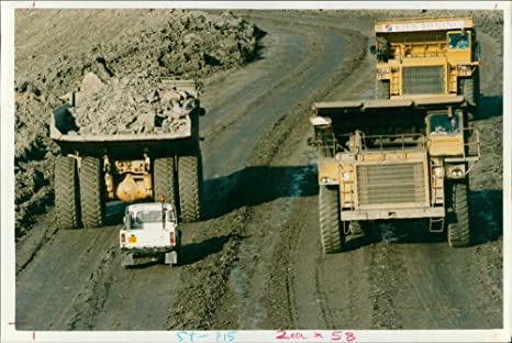 Amazoncom Vintage Photo Of Open Pit Mining Smother Fly
