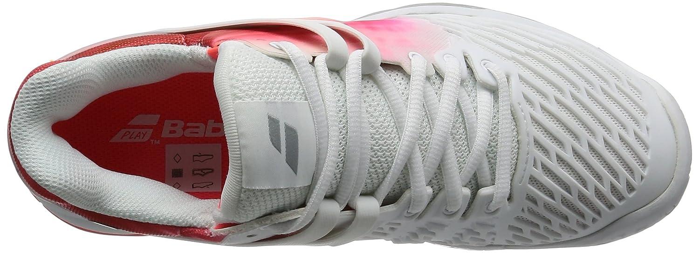 Babolat Nuova Propulse Fury Tutte Le Scarpe da Tennis Tennis Tennis delle Scarpe da Tennis della Corte, Bianco, 38 dfdc0d