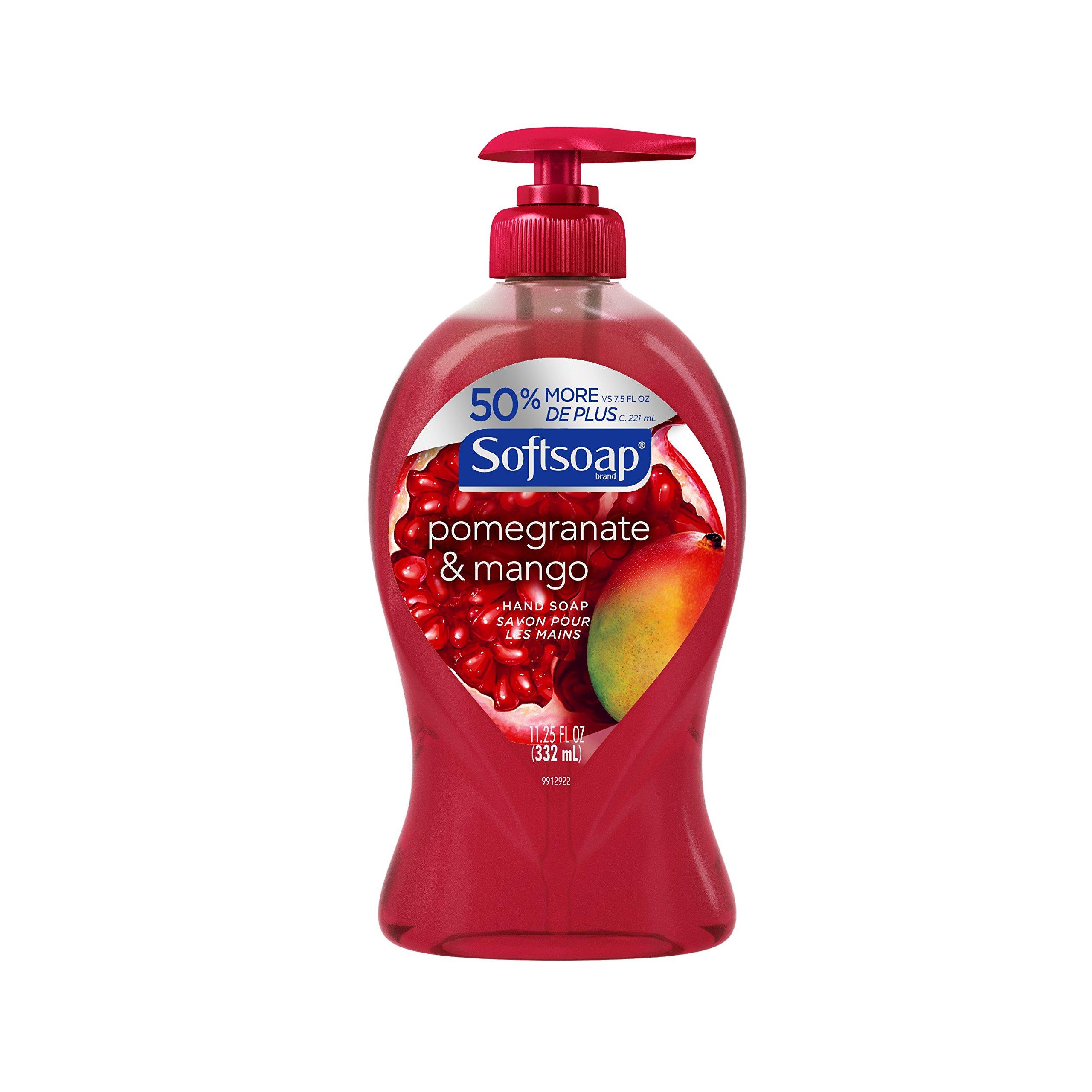 Amazon.com : Softsoap Moisturizing Body Wash, Pomegranate