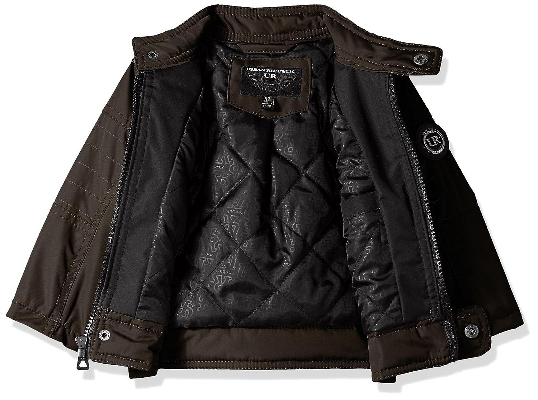 Urban Republic Baby Boys Cloud Ballistic Moto Jacket