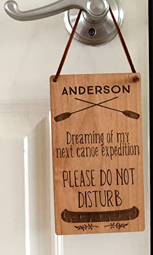 Amazon.com: Personalized Do Not Disturb Sign - Wood Door Sign - Wood ...