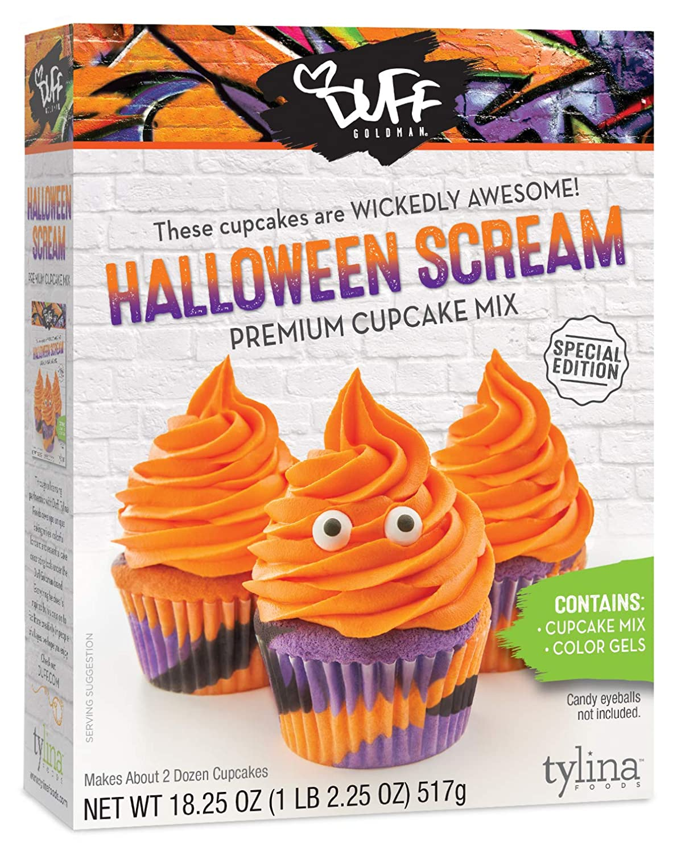 Amazon Com Duff Halloween Scream Cupcake Mix Grocery Gourmet Food