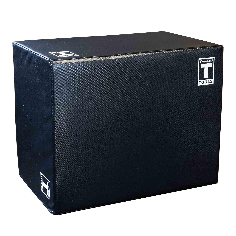 Body-Solid Tools 3 Way Soft Plyometrics Box, Black by Body-Solid Tools
