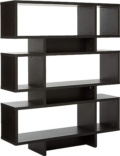 Baxton Studio Cassidy 6-Level Modern Bookshelf