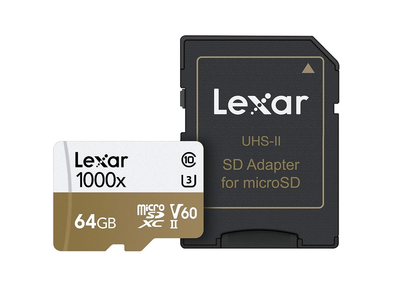 Tarjeta Lexar Professional 256GB 1000x microSDXC UHS-II//U3 LSDMI256CBEU1000R