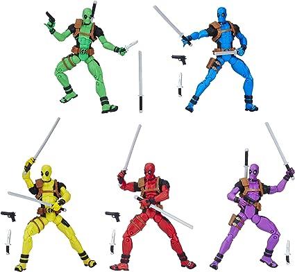 Marvel Legends Series Rainbow Squad DEADPOOL GREEN SOLO 3.75 inch Figure