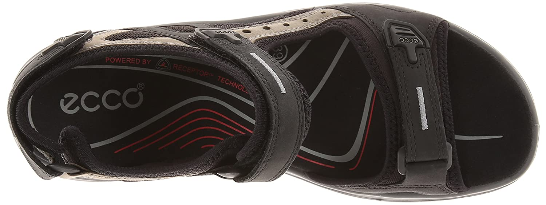 ECCO Women's Yucatan Sandal Women's B000ZICM94 39 EU (US Women's Sandal 8-8.5 M)|Black/Mole/Black f0c9b3