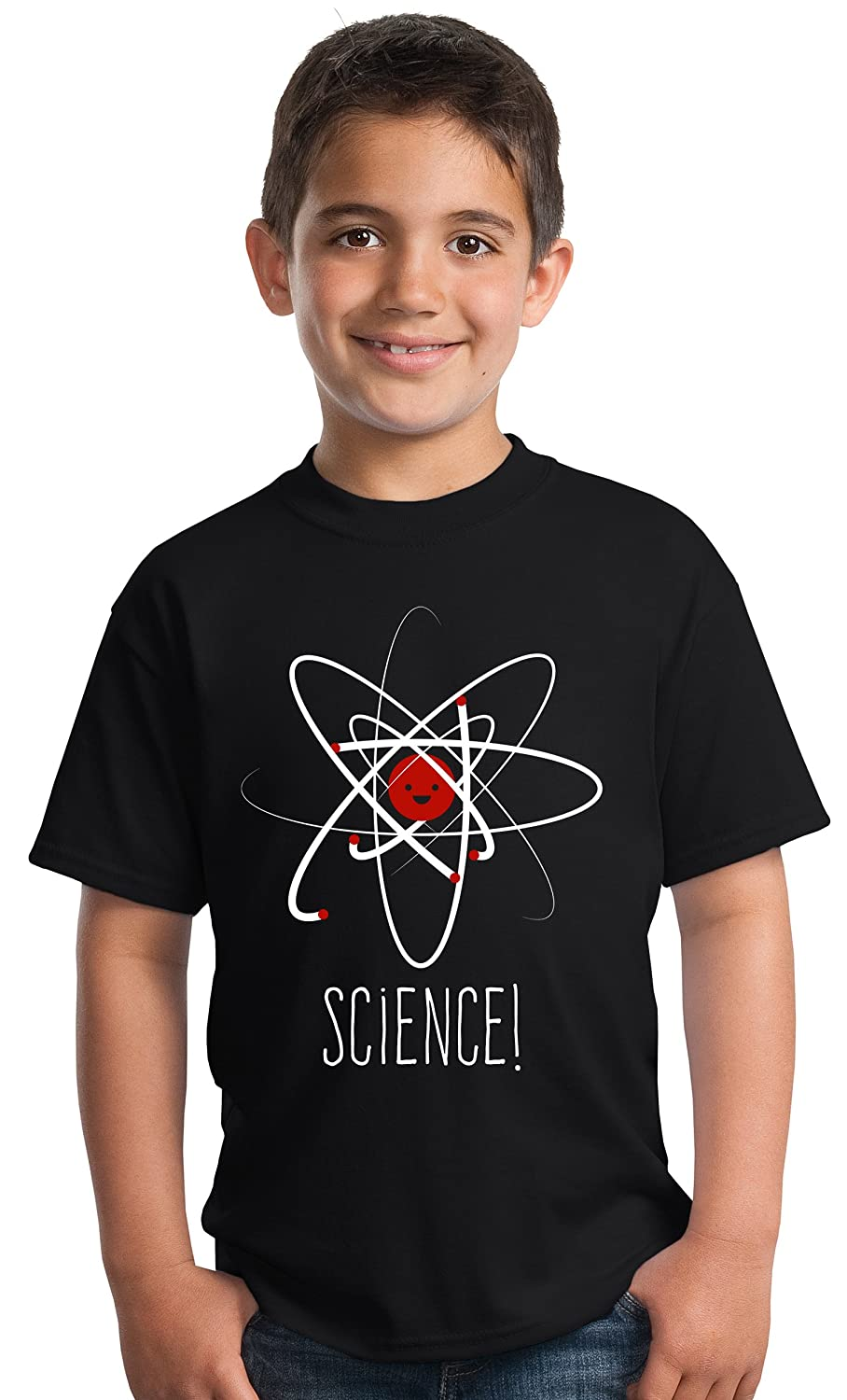 SCIENCE! | Cute Unisex Boy Girl Scientific Student Chemistry Fun Youth T-shirt Ann Arbor T-shirt Co. 0-sib_science-youth