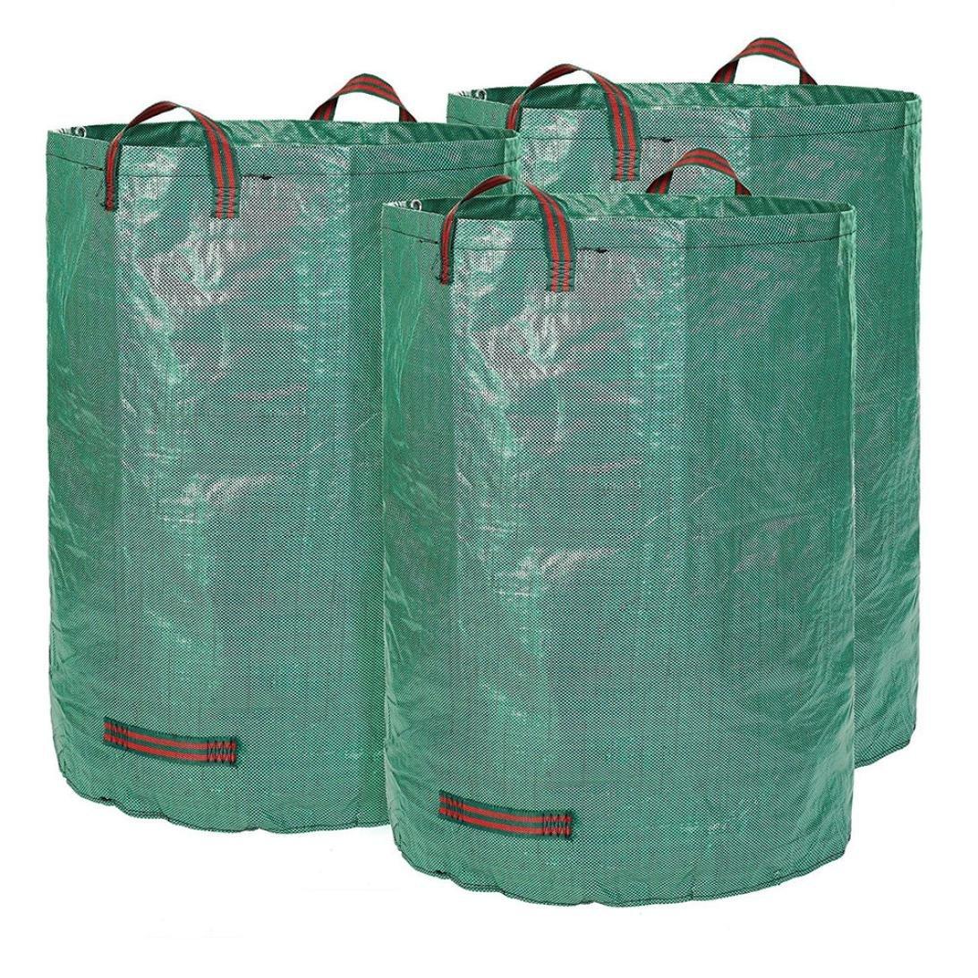 Samoii Clearance!Superb Creative Home Garden Leaf Storage Garbage Bags Leaf Bag Garden Waste Bag Sack Set 1/3 Pcs (4576cm 3Pcs)