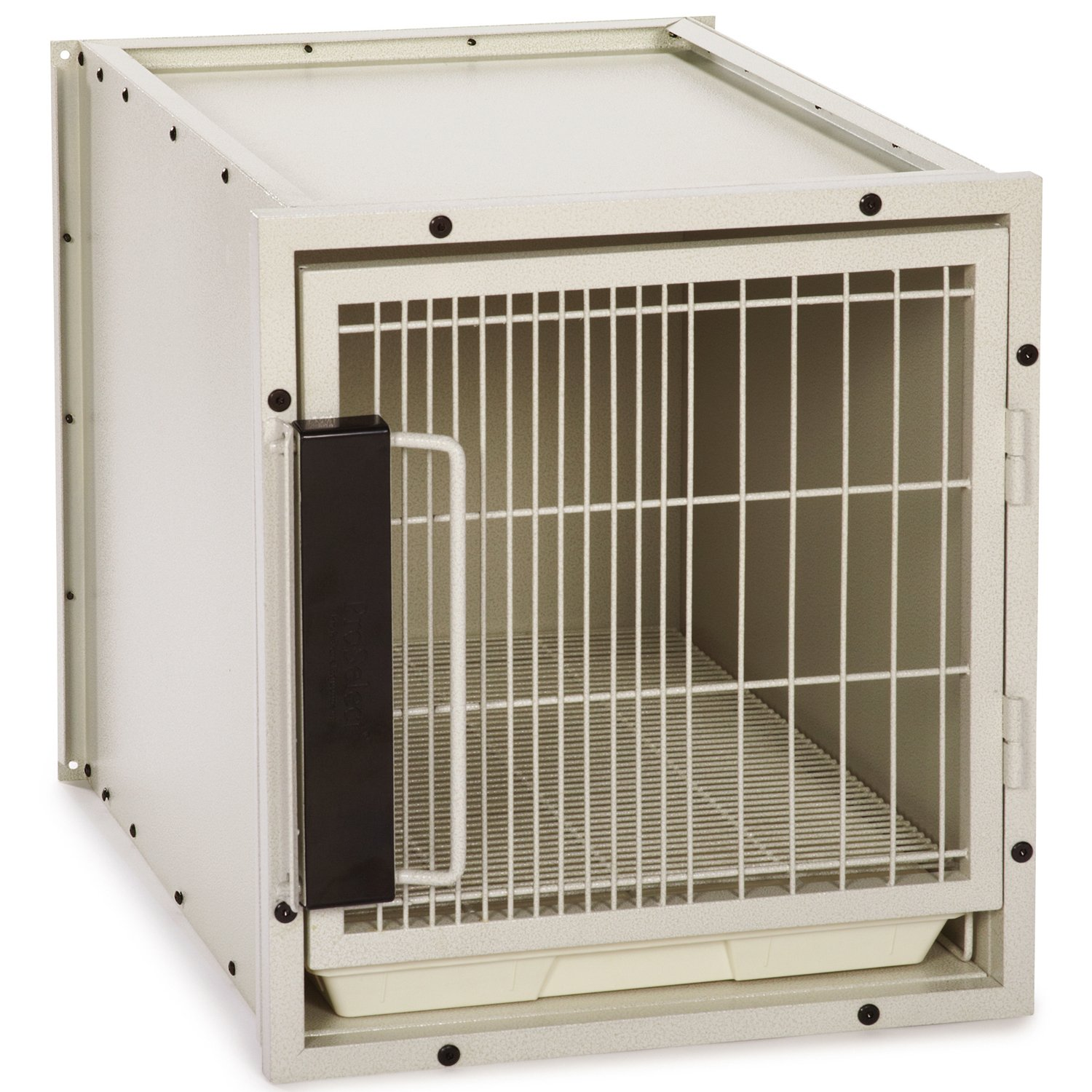 ProSelect Steel Modular Kennel Pet Cage, Small, Sandstone by Proselect (PRPQC)