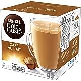 NESCAFÉ Dolce Gusto Coffee Capsules Café Au Lait 48 Single Serve Pods, (Makes 48 Cups) 48 Count