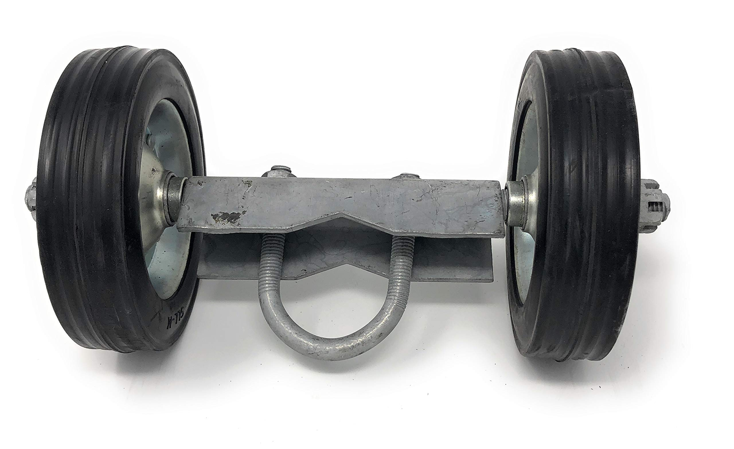 6'' ROLLING GATE CARRIER WHEELS: for chain link fence rolling gates - rut runner by FenceSmart4U (Image #1)
