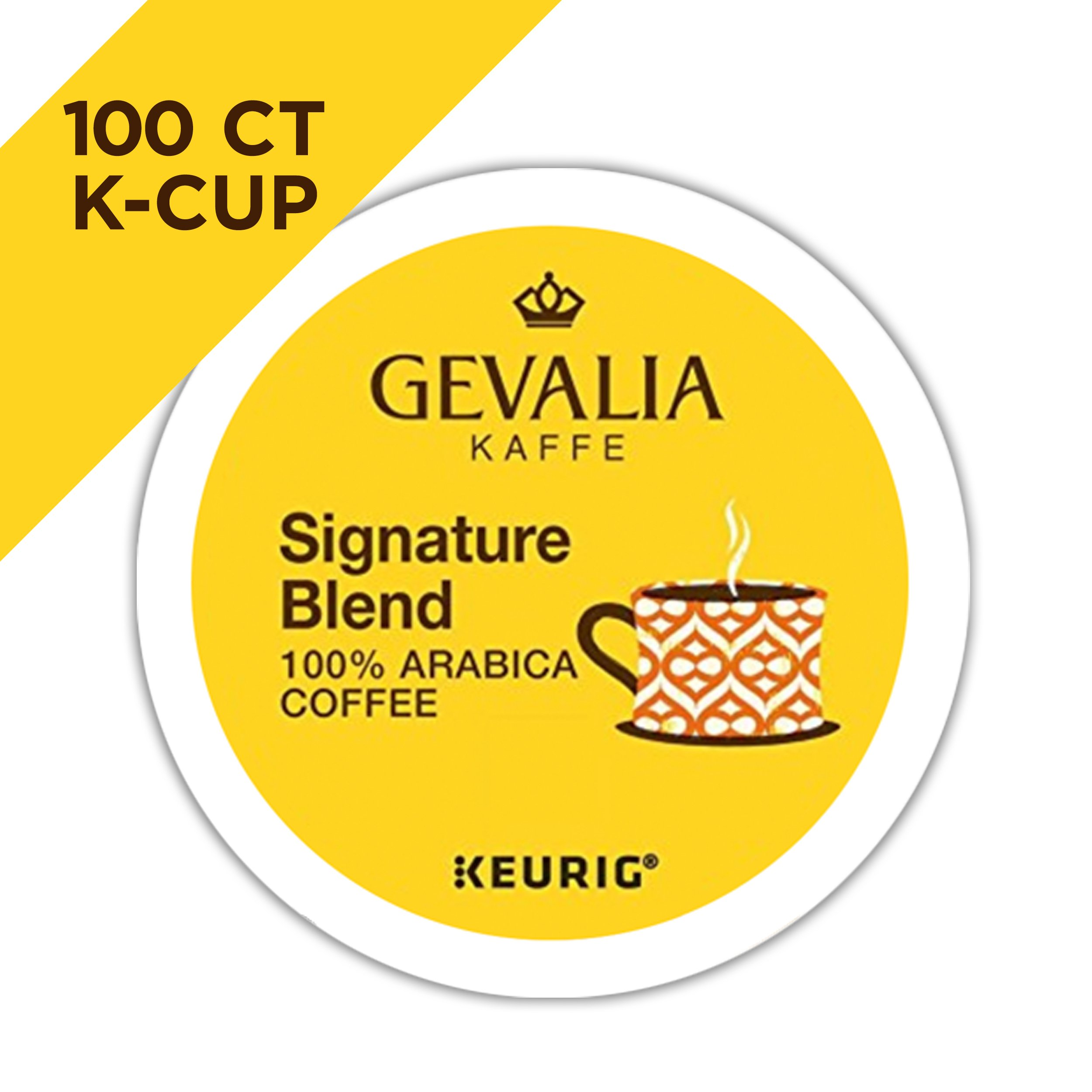 Gevalia Signature Blend Coffee, K-CUP Pods, 100 Count by Gevalia (Image #3)