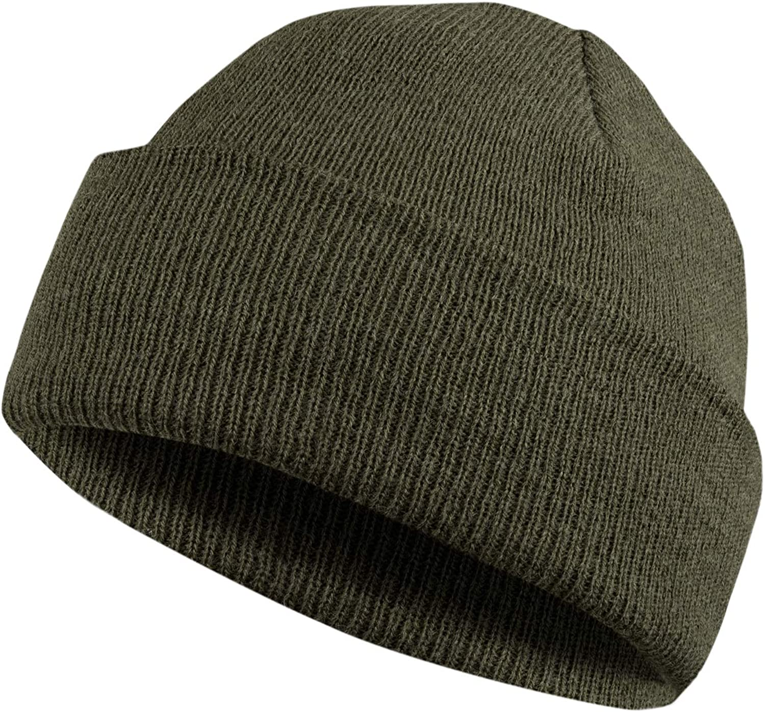 MERIWOOL Beanie Hat for Men n Women Merino Wool Ribbed Cuff Knit Beanie Hat