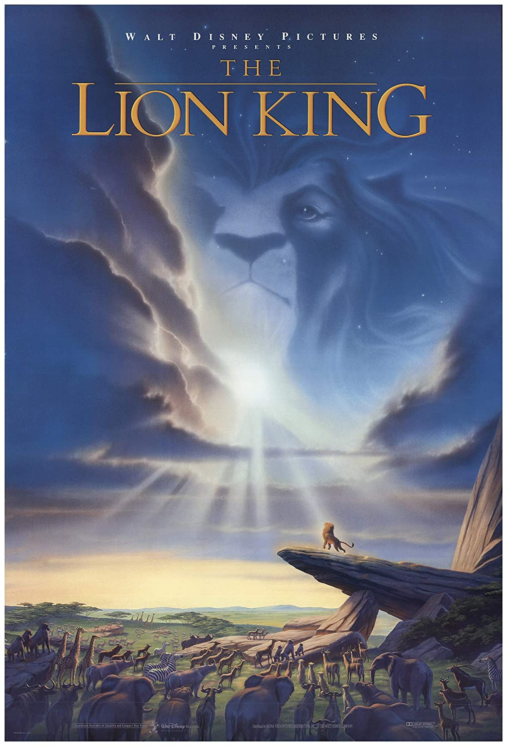 Image result for the lion king poster 1994