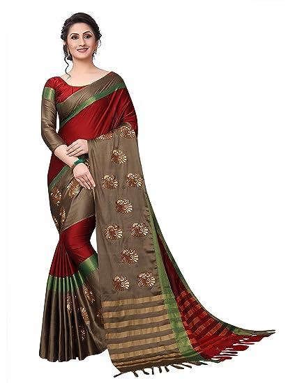 b4fe2e9e18 Zaima Fashion Saree For Women Party Wear Half Sarees Padmavati Silk Pallu  And Utsav Scut With Fancy ...