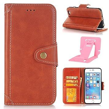 Ekakashop Funda de Cuero Leather Wallet Case, Elegante Funda ...
