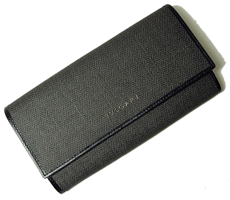 (ブルガリ) BVLGARI 長財布 ウィークエンド (ブラック/ブラック) 32585 BG-1107F [並行輸入品] B00XJE00X6
