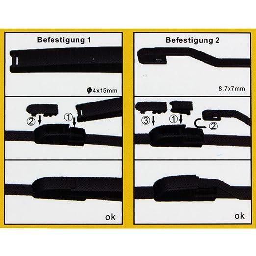 Wischerblatt hinten /> VW·Caddy II Kasten·9K9A Bj. 1995-2004