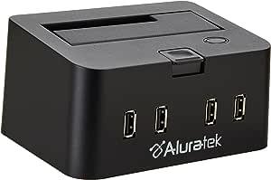 Aluratek eSATA USB 2.0 2.5-Inch/3.5-Inch SATA Portable External Hard Drive Docking Enclosure HubAHDDS100F