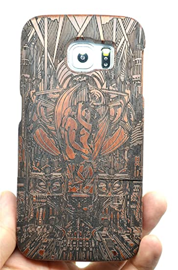 finest selection 3f73a b84ad Amazon.com: Samsung Galaxy S6 Wood Case - Rosewood Adam and Eve ...