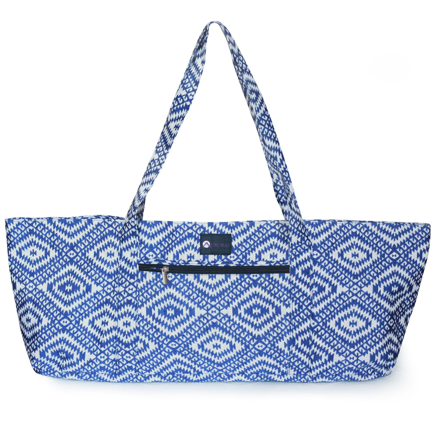 a3c7c18b43f See all customer reviews · Aurorae Yoga Mat Tote Bag | Mat Carrier | Easy  Access snap Closure | Large Outside