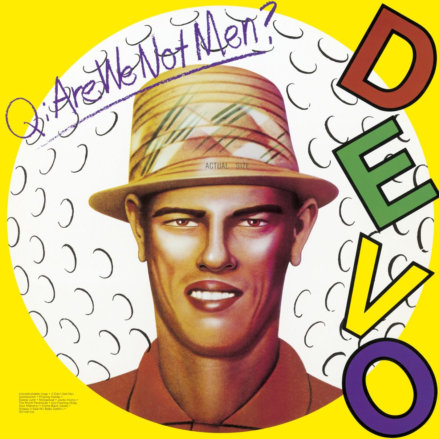 Q: Are We Not Men A: We Are Devo (Yellow Vinyl) [12 inch Analog]                                                                                                                                                                                                                                                    <span class=