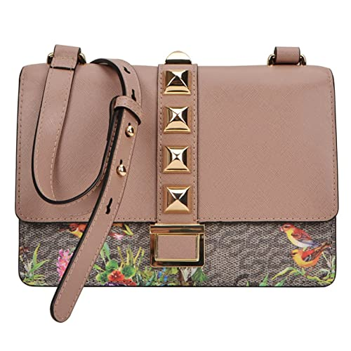 Louvier Women's Princes Garden Crossbody Handbag
