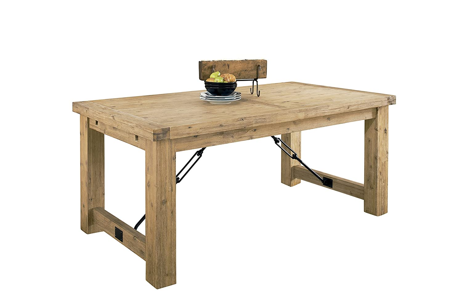 Amazon.com   Modus Furniture 8FM261 Autumn Solid Extension Table, Reclaimed  Wood   Tables