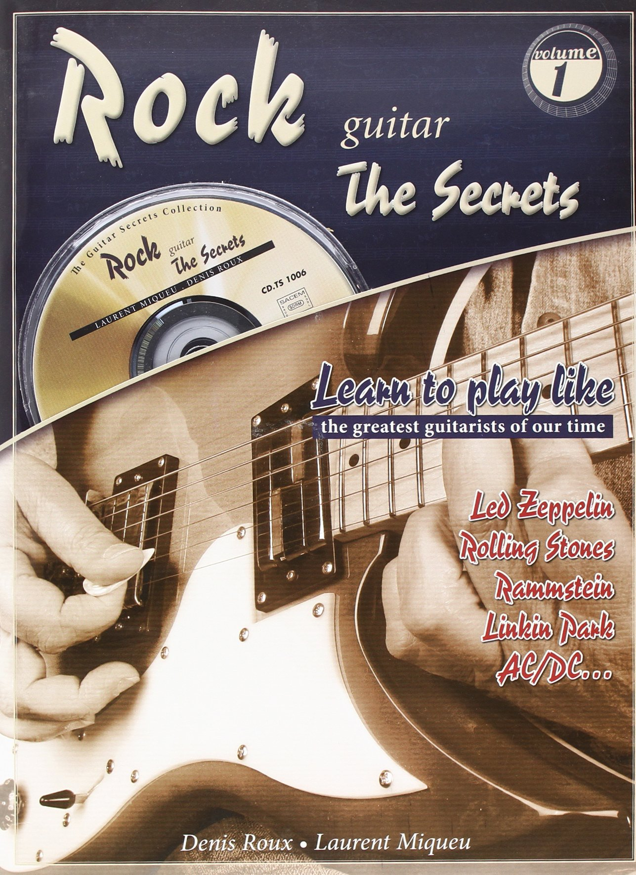 Rock Guitar Secrets Songs Tunes  Learn to Play Orchestra Guitar MUSIC BOOK /& CD