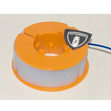 Bobina de cable para cortabordes apta para Bosch ART23 Combitrim ...