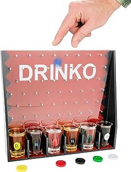 Juego de beber vaso de chupito Drinko: Amazon.es: Juguetes y juegos